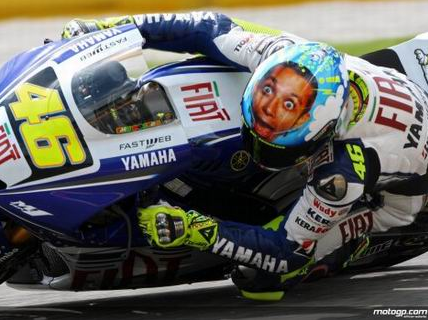 Valentino Rossi in form