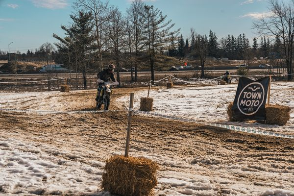 Grand Prix de Snow - earlier in day before the mud