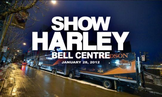 Show Harley Jan 26, 2013 - Bell Centre, Montreal, Quebec