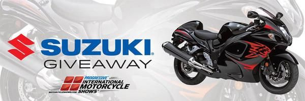 Suzuki Hayabusa Sweepstakes at The New York Motorcycle Show