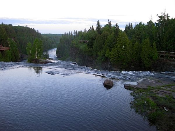 Top of Kakabeka Falls