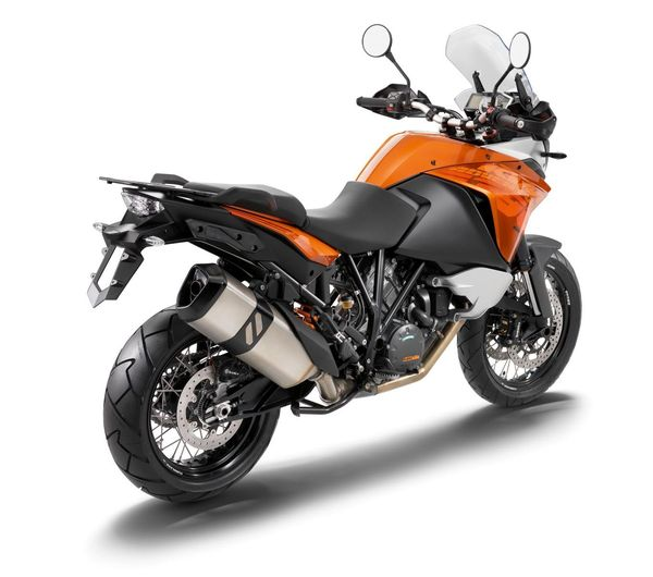 2013 KTM 1190 Adventure R - rear quarter view