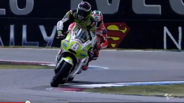 MotoGP near misses 1