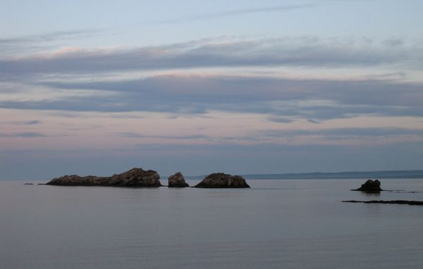 Bon Ami Rocks, Dalhousie, NB