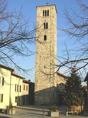 Italy - Erba - Church of Saint Eufemia