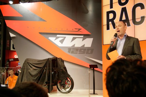 Toby Moody introduces KTMs 2013 range