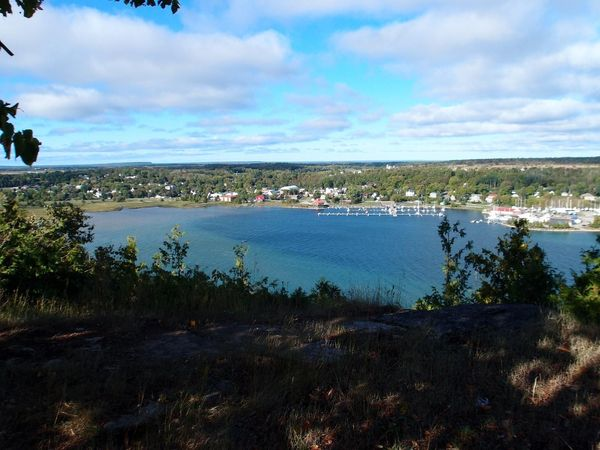 The view of Gore Bay