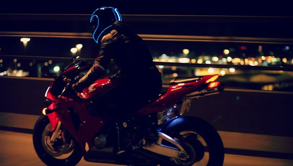 Safety - Motorcycle Riding at Night