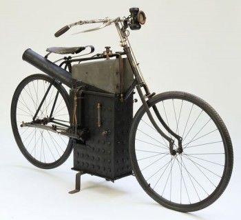 1898 Roper Steam Motorcyle
