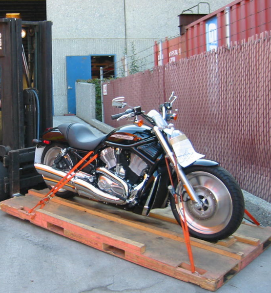 Motorcycle shipping service
