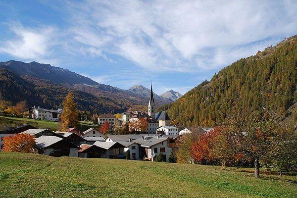 Santa Maria Val Müstair, Switzerland