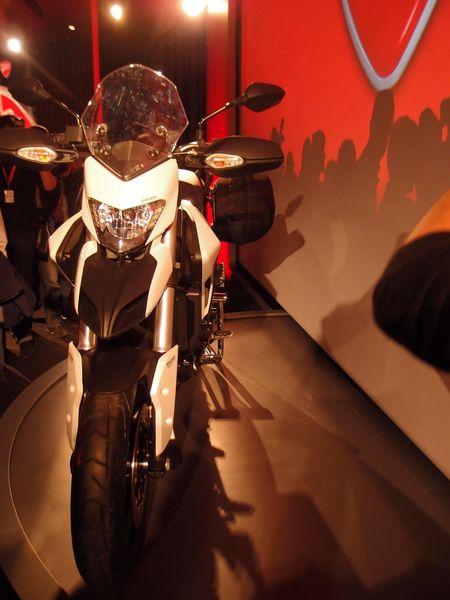 Ducati Hyperstrada front