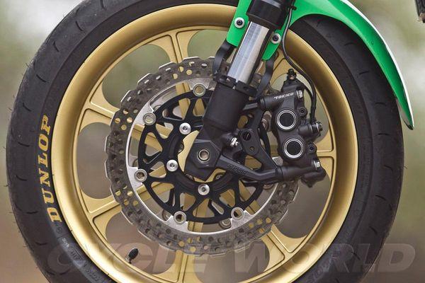 Kawasaki Z1000 Custom wheels