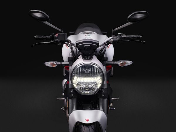 Ducati MONSTER 797 with round headlight