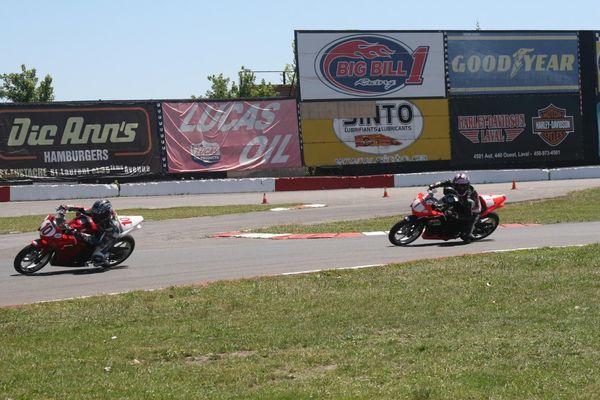 Race #2 St-Eustache CBR250 CSBK '12
