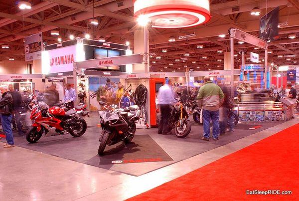 Yamaha Stand 2012 Toronto Show