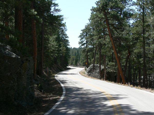 Iron Mountain Road Curves