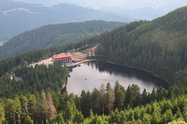 Mummelsee Lake, Germany