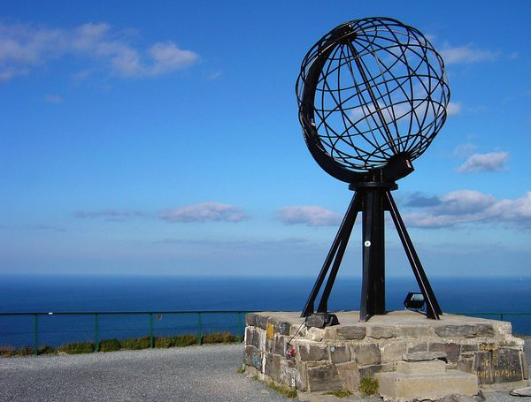 North Cape Sculpture, Nordkapp Norway