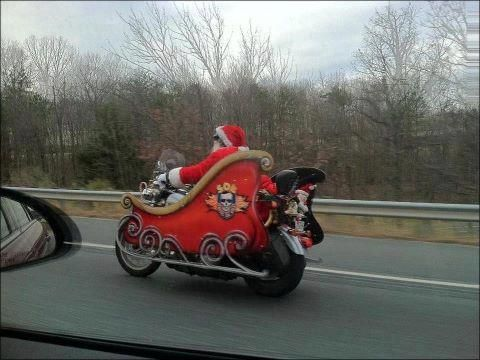 Apparently, Santa is taking a more exciting approach this year...