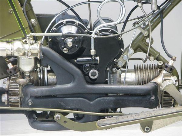 Harley-Davidson Model W Sport Twin Engine