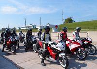 Dramatic crash in the CBR250R Canadian Superbike CSBK race at Mosport