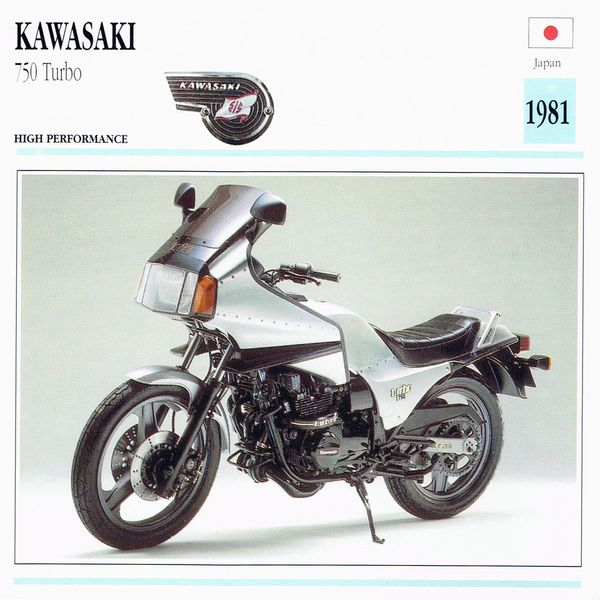 Kawasaki 750 Turbo Card