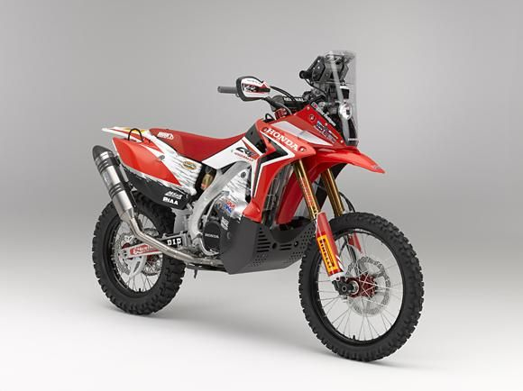 Honda CRF450 Rally model