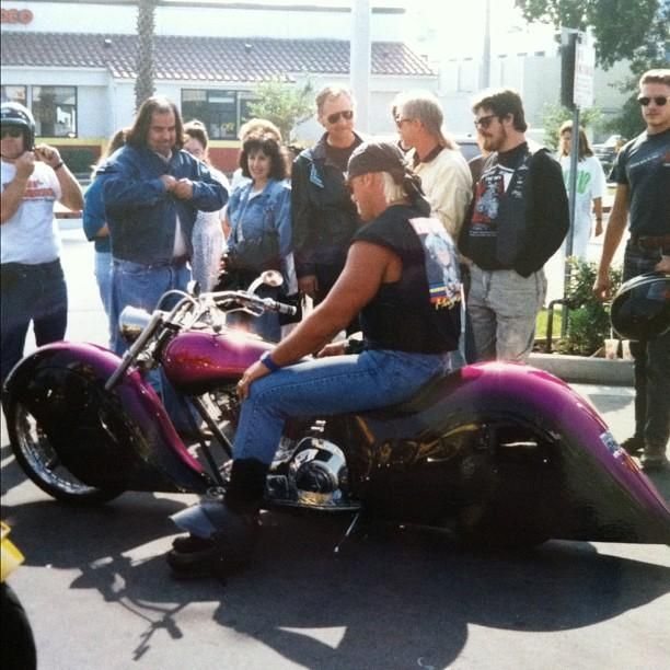 Hulk Hogan A Wrench Monkey? He Just Blew His Motorcycle Gasket ...