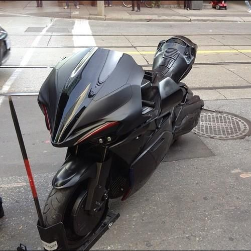 Robocop Save The World Astride A Motorcycle Bike Eatsleepride