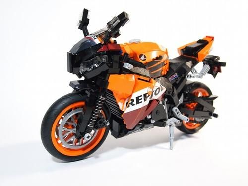 The LEGO Built Honda REPSOL CBR1000RR