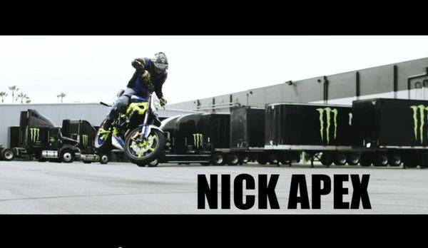 Nick Apex on his Triumph Street Triple & Triumph Speed Triple drift bike