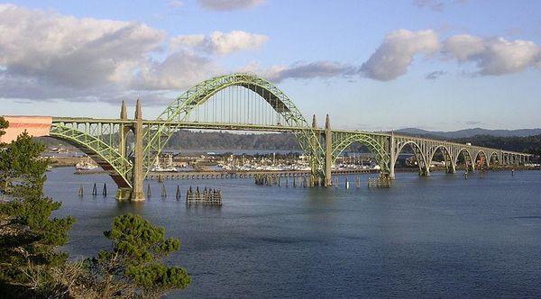 Newport, Oregon - Yaquina Bay Bridge