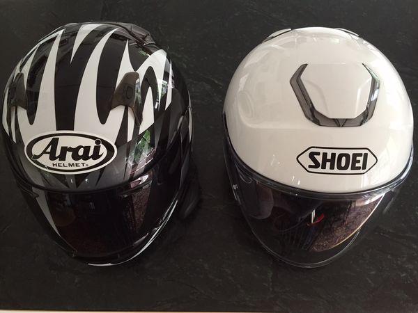 Shoei J-Cruise Open Face Helmet:  From the Arai Signet Q, Zoan, Bell and Bitwell