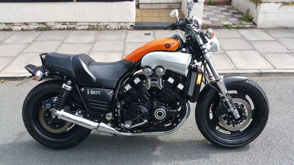 Yamaha Vmax 1200 Bike EatSleepRIDE