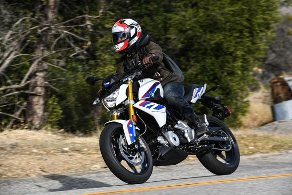 G310R immediately infuses the rider with confidence