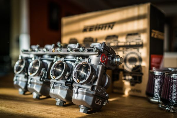 Carb porn: CR Special Carbs for the CB900