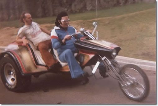 Elvis Motorcycle Trike