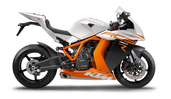 2013 KTM 1190 RC8 R - right side view