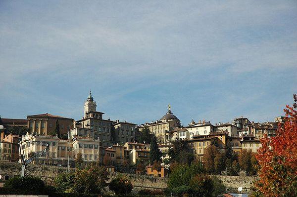 Bergamo, Cita Alta, Italy