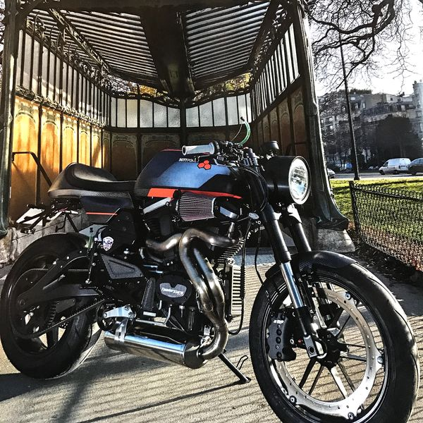 The BOTTPOWER XC1 Carbon As Built From A Buell 1200 Donor Bike