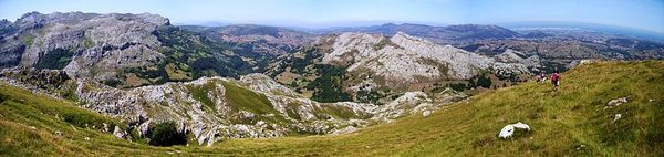 Mountains in Cantabria