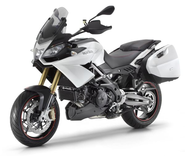 2013 Aprilia Caponord 1200 - left front quarter view