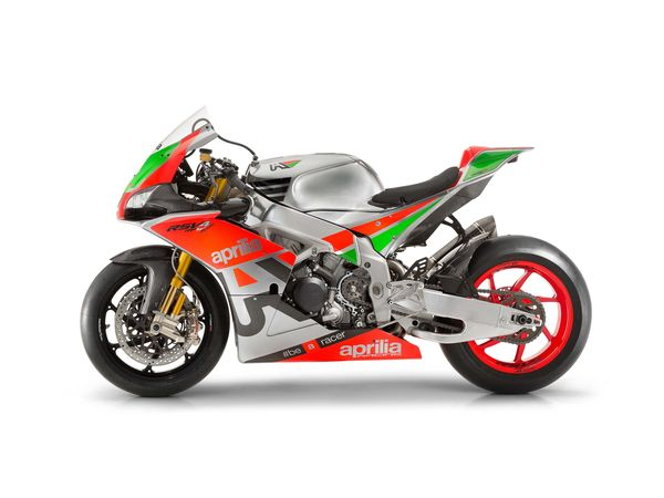 RSV4 FW GP left side (photo: Aprilia)