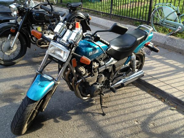 Yamaha YX600 Radian spotted in the wild