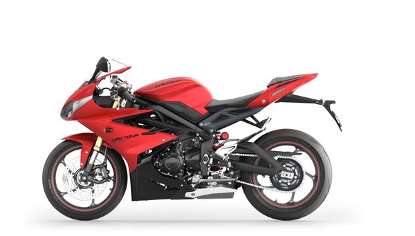 2013 Triumph Daytona - left side view