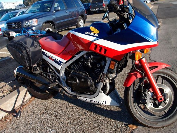 Honda Interceptor caught in the wild