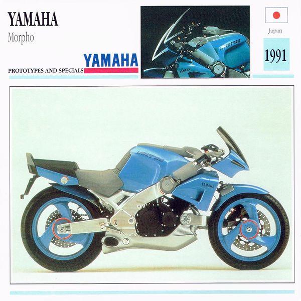 Yamaha Morpho card