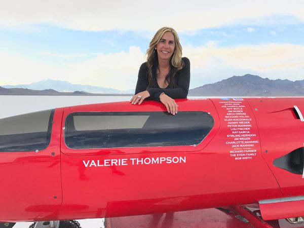 Valerie Thompson - America's Queen of Speed.