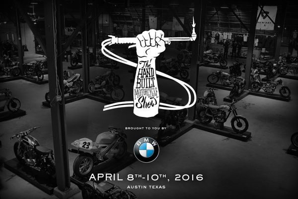 Handbuilt Motorcycle Show 2016 - Austin, TX